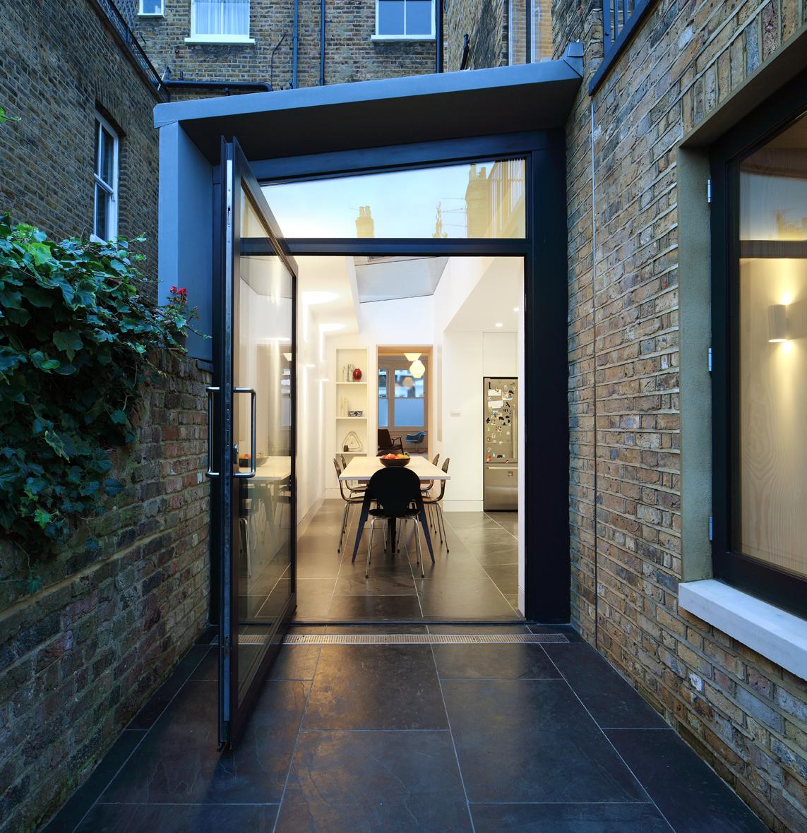 Platform 5 architects for Victorian garden room